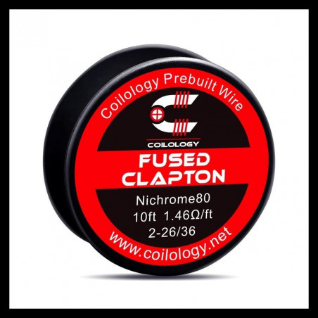 Fused Clapton Coilology - 2.60 ohm/ft