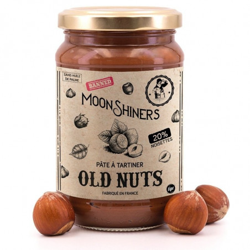 Pâte à tartiner Old Nuts Moonshiners