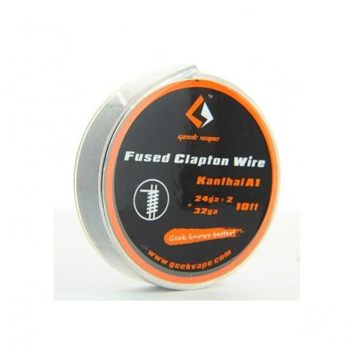 Kanthal A1 Fused Clapton Wire 24GAx2+32GA 3m Geek Vap