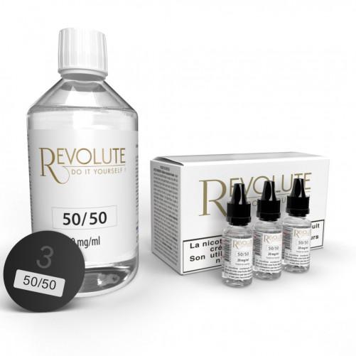 Kit TPD-ready DIY 200 ml 3MG - Revolute